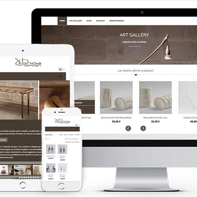 Sito e commerce arredamento e design lecce for E commerce arredamento