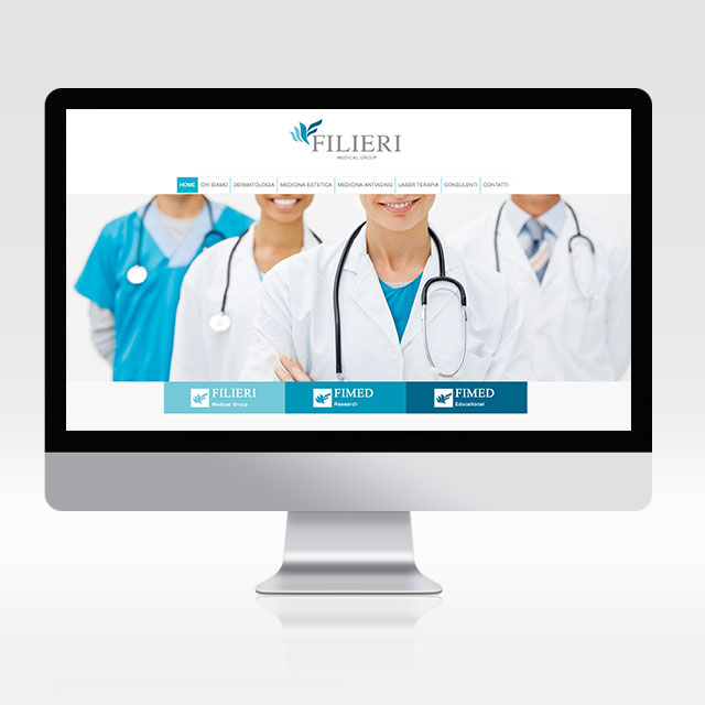 Sito internet Filieri medical group
