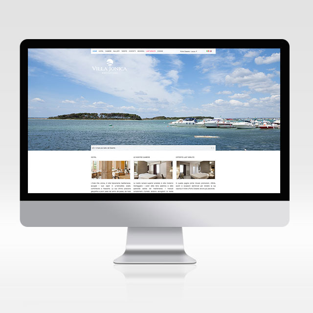 Sito internet Hotel Villa Jonica