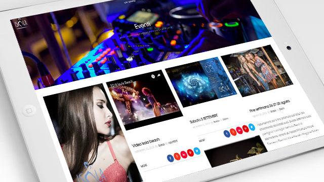 Boma visual – siti internet Tortuga Restaurant e Isola Beach