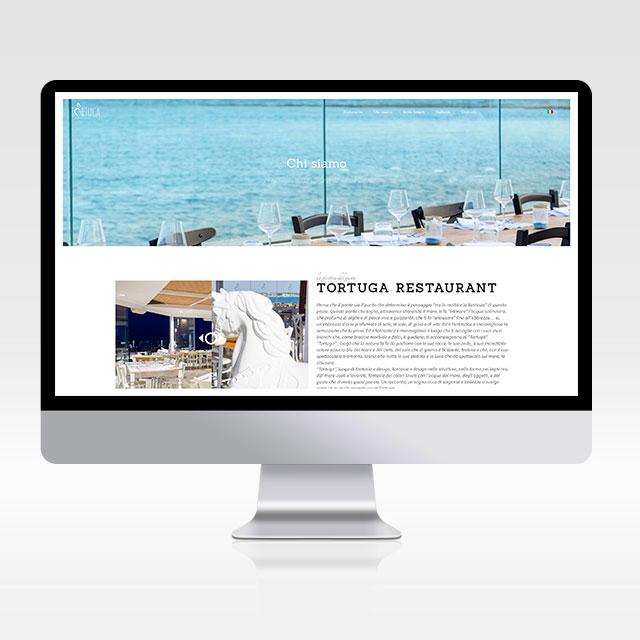 Sito internet Tortuga restaurant