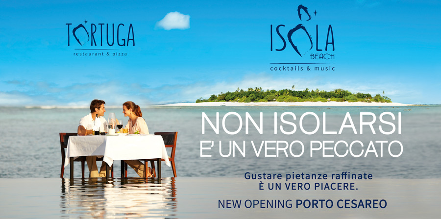 Campagna Advertising Isola beach 2016