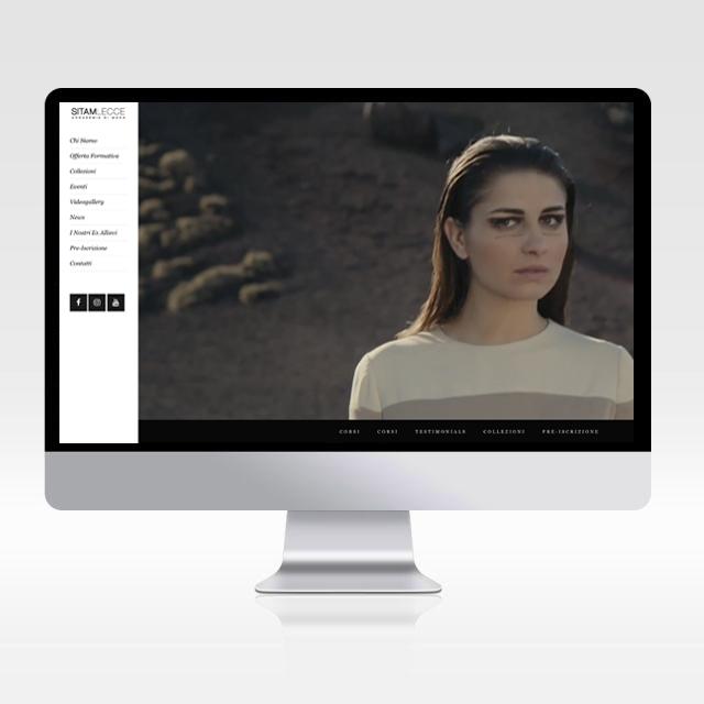 Sito internet Sitam Lecce accademia della moda